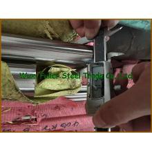 Barre / tige rondes en acier inoxydable de surface polie 321