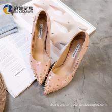 9cm high heels sexy rivets girls high heel sandals