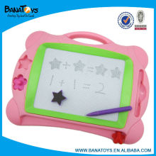 Educational pink magnetic drawing board toy