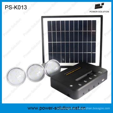 5200mAh 3 Lichter Solar Power System für abgelegenen Gebieten