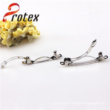 2014 Hair Accessory Simple Design Silver Metal Hairpin