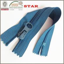 Fermeture à glissière en nylon avec extracteur de pouces (# 5)