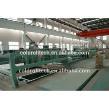 High Speed High Precision HR CR Coil Straight line Cutting Line Cut to Length Machine
