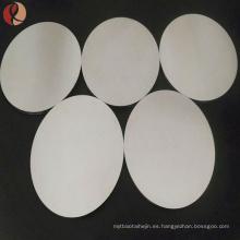 Zirconio puro 702 zirconio sputtering precio objetivo de metal por kg para la venta