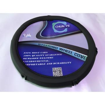 Autozone wholesale pu leather car steering wheel cover