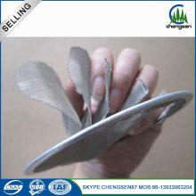 Malha tecida filtração de aço inoxidável de 80 malhas