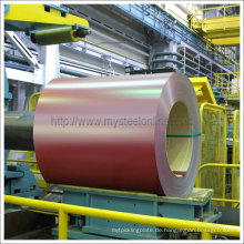 Dachziegel gebrauchte vorlackierte Stahlspule