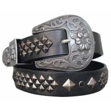 Studs Lady Fashion PU Belt (KY1640)