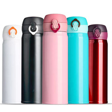 Bouteille de sport / tasse de voyage en acier inoxydable de vide coloré de cadeau de nouvelles idées d'affaires