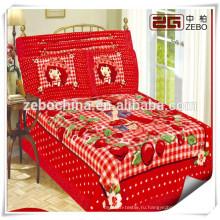 Китай Поставщик Домашние дизайнерские комплекты постельного белья с супер качеством