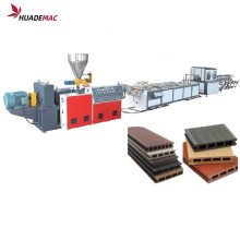 WPC PVC wood plastic making machine