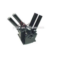 Glück Confetti & Streamer Launchers Four Shots) Elektro Launcher Konfetti Maschine