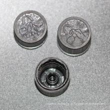 uma variedade de tampas para garrafa de óleo essencial de vidro (nd13)