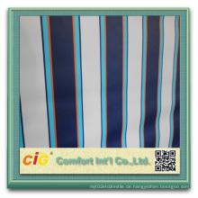 PVC-beschichtetes Polyester-Markisen-Gewebe-wasserdichtes Streifen-Gewebe