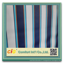 Tissu en tissu imperméable à l'épreuve en polyester à revêtement en PVC