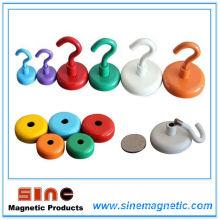 Brillante colorido fuerte permanente NdFeB Magnet Hook