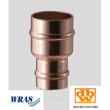 Raccord réducteur de cuivre à bague de soudure de 22 x 15 mm