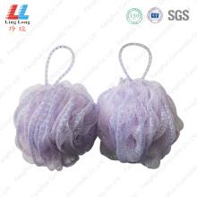 Absorb mesh lace bath sponge