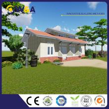 (WAS1008-46D) Chine 3 chambres préfabriquées maisons modulaires modernes maisons préfabriquées préfabriquées pour les ventes