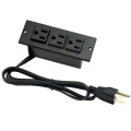 US 3-Outlets Strip Power Unit For Office&Furniture