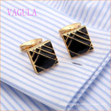 VAGULA New Arriaval Gold Plated Cuff Links High Quality Cuffs