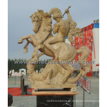 Escultura de piedra tallada jardín para la escultura al aire libre (SY-X1648)