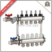 Floor Heating Water Manifold with Valves (YZF-L083)
