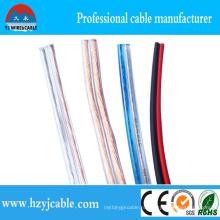 Фабричный гибкий проводной акустический кабель, аудио- и видеокабель, прозрачный кабель динамика