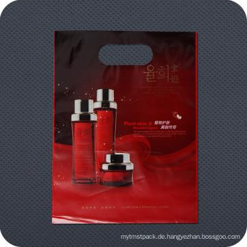 Premium-bedruckte Kunststoff-Stanz-Griff-Einkaufstasche