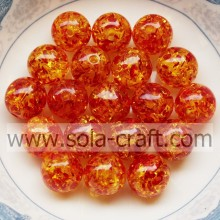 14MM & 20MM Luxury Round Resin Crystal Beads