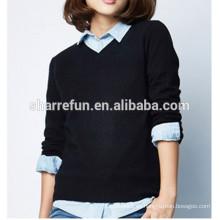 suéter de cachemira de damas