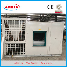 Hot Water Coil Rooftop Packaged Air Cooled Chiller