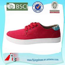 Zapatillas de deporte rojas elegantes del monopatín de los hombres del odm del OEM