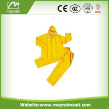 Impermeável Windbreaker Yellow Work Rain Suit