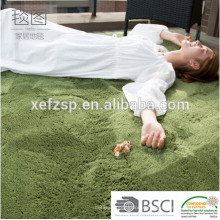 modern round size polyester shaggy rugs and carpets