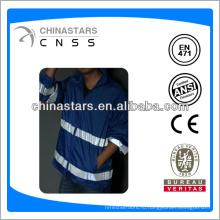 EN471 / ANSI мужской синий отражательный плащ