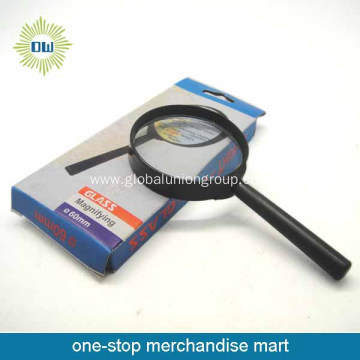 Hot promotional plastic handle magnifying glass