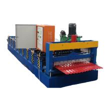 máquina de fabricación de tejas de aluminio
