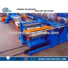 Hot Sale Panneau de plaque de tôle en acier inoxydable en acier galvanisé coloré en acier coupe à longueur Ligne / Machine
