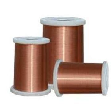 Fil d'aluminium émaillé à chaud