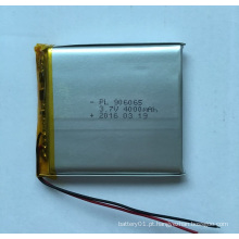 Li-Polymer Battery 3.7V 4000mAh bateria de lítio 906065