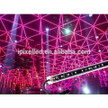 Effet 3D 360 degrés RVB LED DMX pixel tube lumière