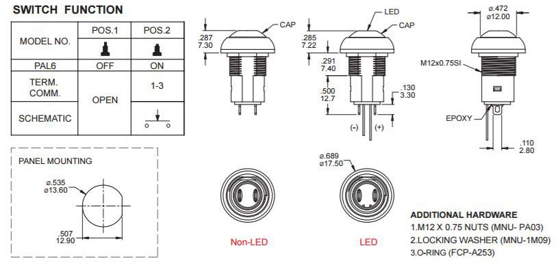 LED Switches