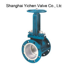 Manual Flange Slurry Knife Gate Valve (YCPZ43)