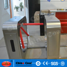 Building entrance automatic barrier optical turnstiles for pedestrian access control