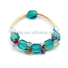 2014 einzigartige Design-Aquamarin-Armbänder glänzende österreichische Kristall Armbänder