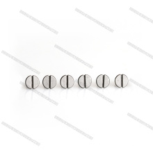 Mini Slotted Flat Head M3 Titanium Screws