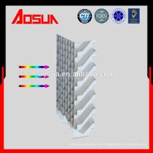 Rejilla de entrada de aire de PVC de bajo precio para torre de enfriamiento