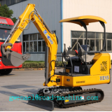Hydraulic Crawler Excavator XE15 0.044m³ for Construction
