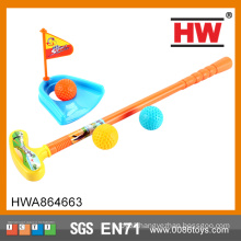 Funny Children sport toy plastic golf toy set plastic golf putter